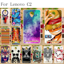 Anunob For Lenovo Vibe C2 Case Silicone 3D Cute Capa Power Soft TPU Cover K10a40 Phone Cases