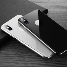 Back Cover 3D Protective Glass on for iPhone XSMax XS Max X S Back Film Anti Scratch Case Friendly Full Coverage Protector Glas