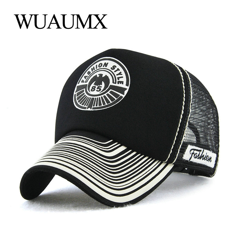 847542a7177 Wuaumx NEW Unisex Summer Mesh Cap For Women Ponytail Baseball Caps With Mesh  Breathable Net Hat Messy Bun Snapback Cap Casquette