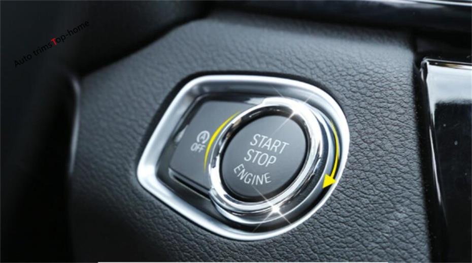 Yimaautotrims Başlat Durdur Motor Sistemi Anahtar Kalıp Çerçeve - Araç Içi Aksesuarları - Fotoğraf 1