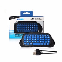 Wireless message keypad Chatpad Keyboard Accessory Adapter 2.4G mini chatting for Sony PS4 Controller for PlayStation 4 P Contro