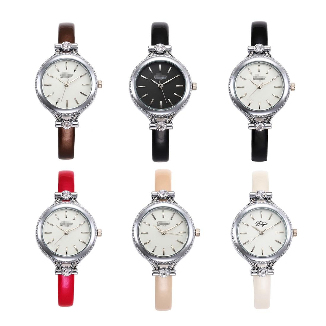 2018 New Fashion Relogio Feminino Womne Wrist Watches Ultra Thin Rosefield Watch Montre Femme Ladies Business Clock Dropship
