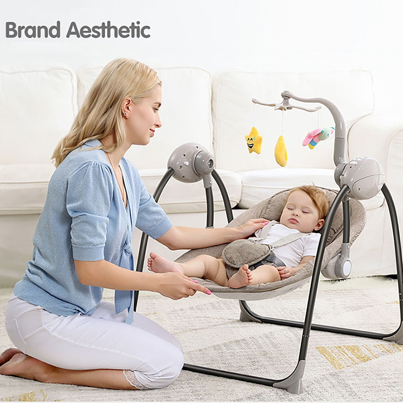 IMBABY Baby Swing Baby Rocking Chair Electric Baby Cradle With Remote Control Cradle Rocking Chair For IMBABY Baby Swing Baby Rocking Chair Electric Baby Cradle With Remote Control Cradle Rocking Chair For Newborns Swing Chair