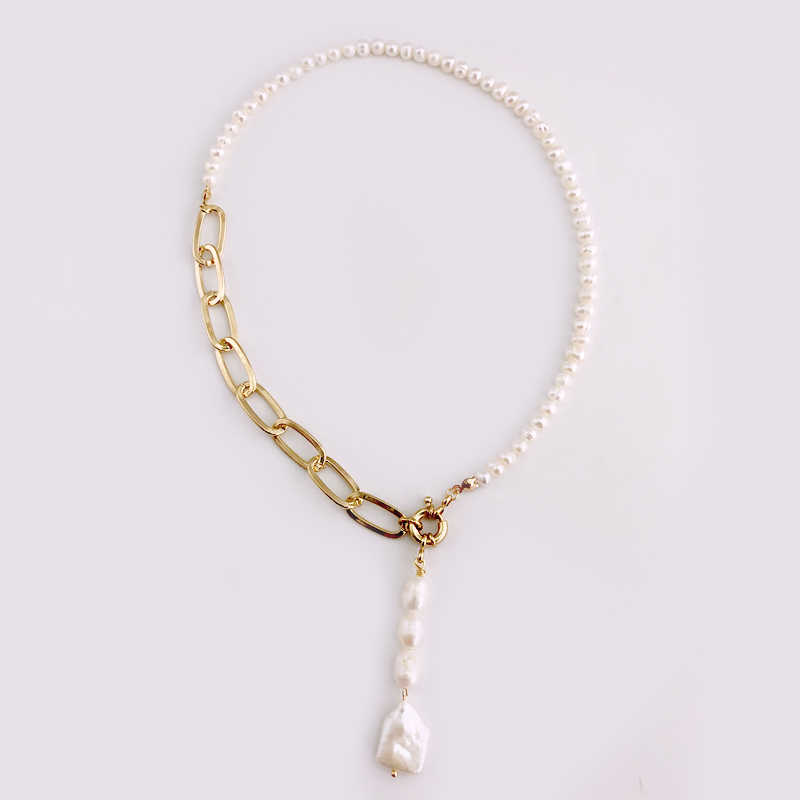 2019 Hot Selling Fresh Water Pearl Necklace and Bracelet Set Jewelry Dubai Bridal Jewelry Set Unique Party Jewelry Icon to Women