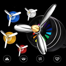 Air Freshener Car Fragrance Perfume Clip Diffuser LED light Conditioning Outlet Vent Aromatherapy Auto Accessories