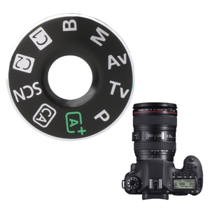 Image 2 - Camera Function Dial Mode Interface Cap Button Repair Parts For Canon EOS 6D New