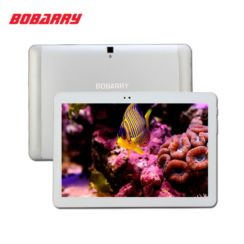 цены  BOBARRY Android 6.0 Tablets PC 10.1 Inch IPS 1280x800 MTK Octa Core 4GB RAM 64GB ROM Dual SIM Card 4G Phone Call 10.1