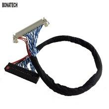 FIX30pin двойной 8 lvds кабель 17-24 дюймов Целом ЖК линия С карты пряжки LVDS (2 ch, 8-бит), 30 контакты