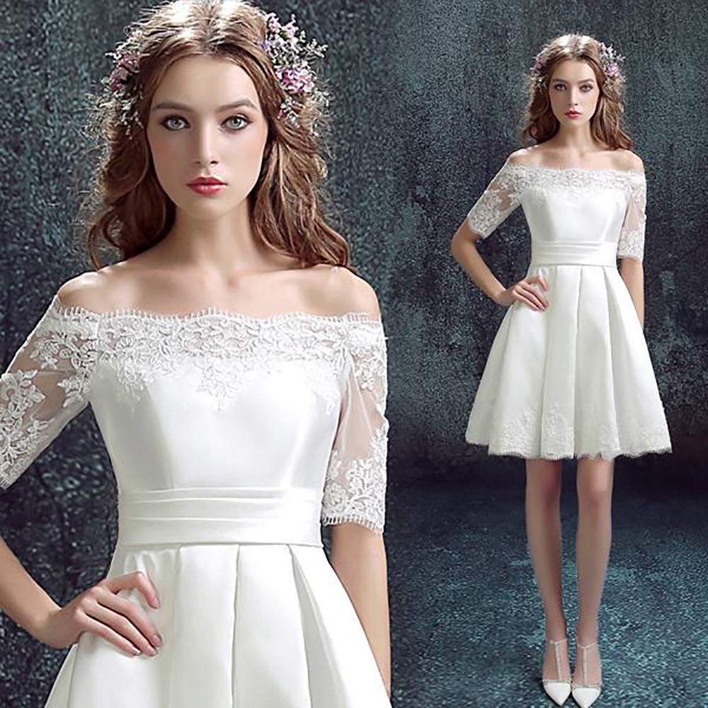 Small Of White Cocktail Dresses