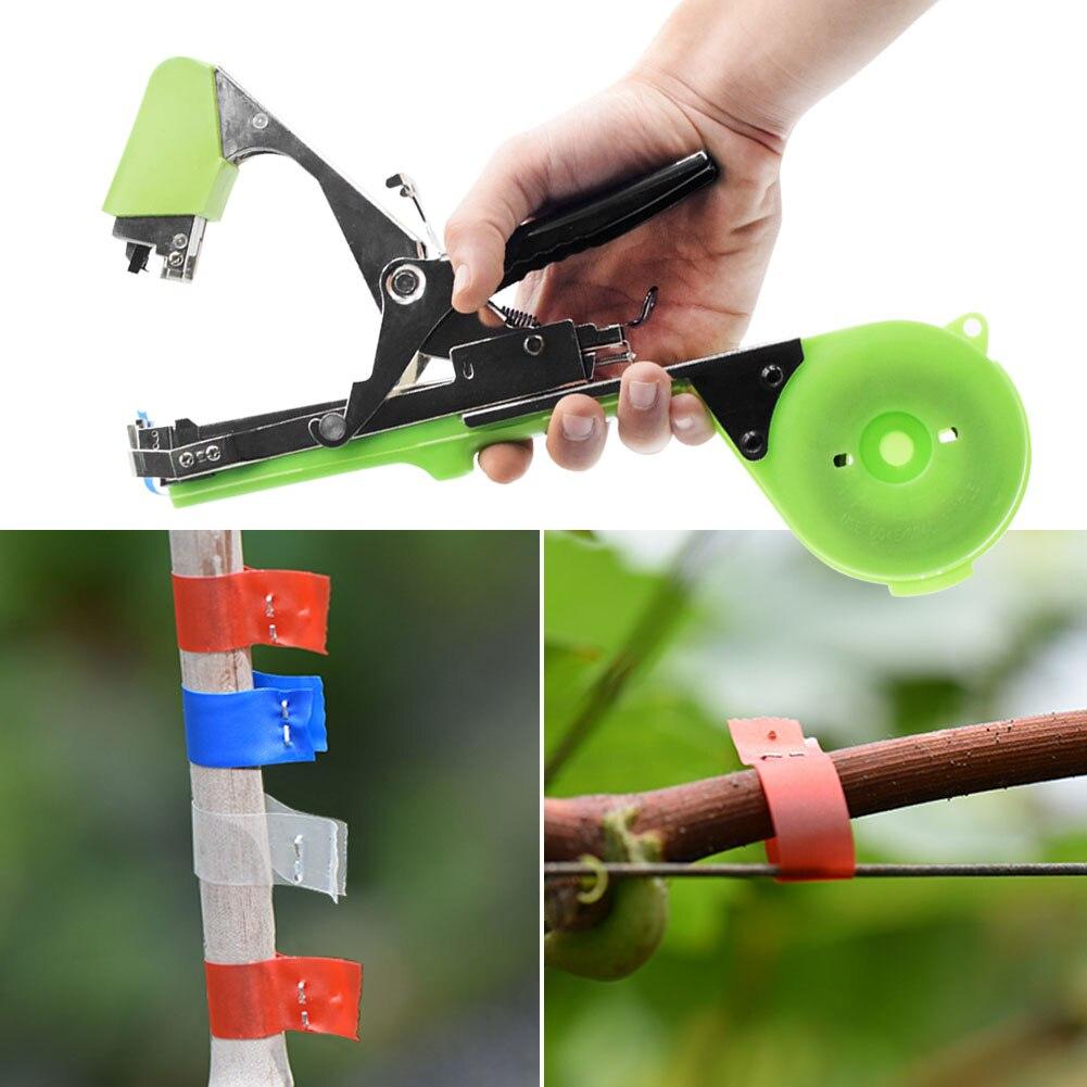 Branche de fixation de plantes Tapetool Machine à relier à la main outils de jardin Tapetool Tapener tige végétale cerclage outil d'élagage de raisin