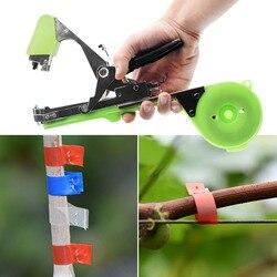 Planta de obligar rama Tapetool mano atar máquina de encuadernación herramientas de jardín Tapetool Tapener vegetales madre Flejes de poda de la herramienta