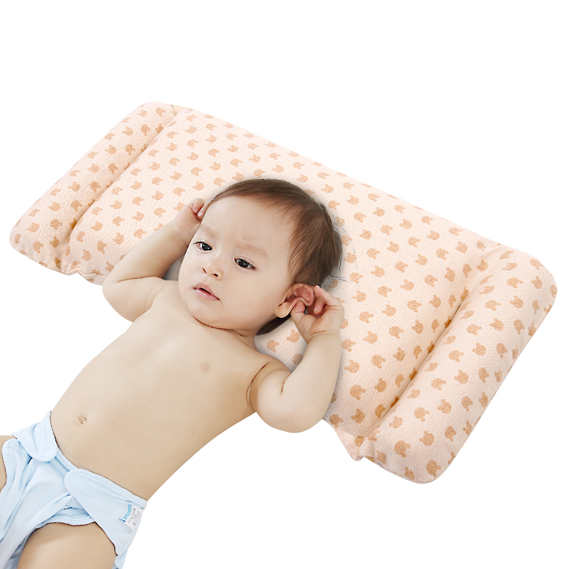room decor nursing Memory cotton pillow Anti-rollover Help baby develop a good sleeping position to protect the head type deluxe edition of the baby child health pillow space memory pillow