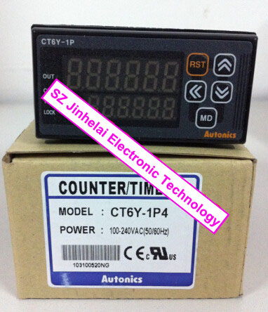 все цены на  New and original  CT6Y-1P4  AUTONICS   TIMER   100-240VAC  онлайн