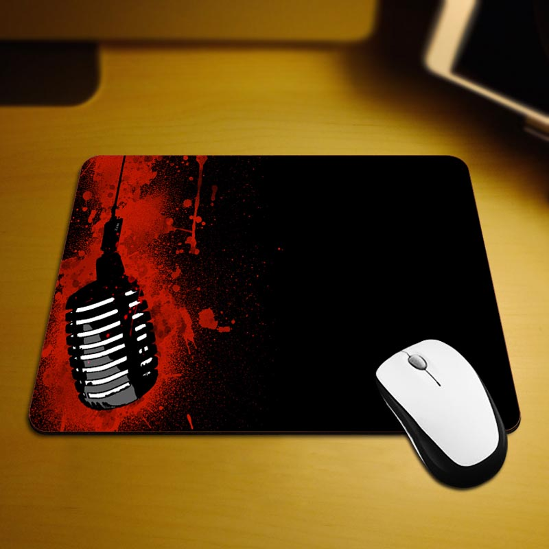 MaiYaCa 2016 Hot Bloody Cool Sell New Small Size Mouse Pad Non-Skid Rubber Pad 220mmX180mmX2mm and 250mmx290mmx2mm