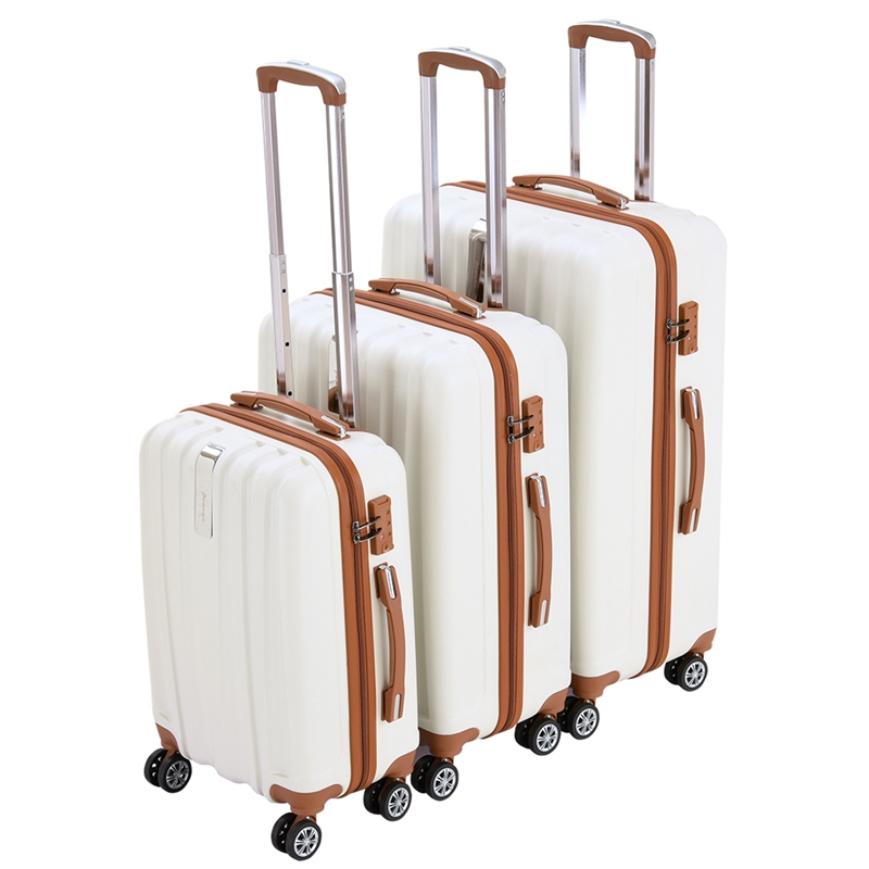 20 24 28 Hard Shell Suitcase 4 Wheel Spinner Lightweight Trolley Luggage Suitcase HOT SALE