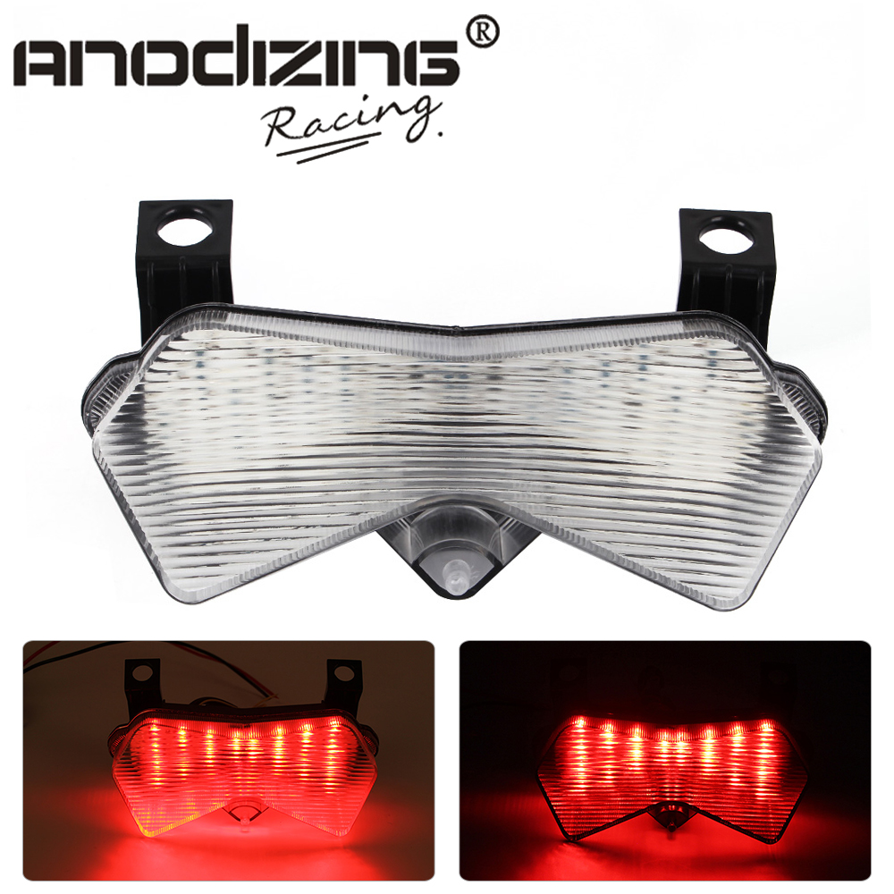 New Motorcycle For Kawasaki 636 ZX6R 2003 04 Led Tail Brake Turn Signal Integrated Light   - title=