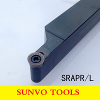 SRAPR SRAPL 1616H08/1616H10/1616H12 CNC Turning Tools Screw Fastening External Turning Holder Use RPMT08T2 RPMT10T3 RDMT10T3