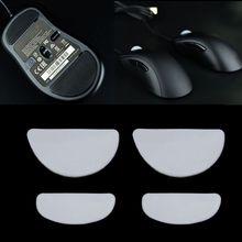 2 대/갑 호랑이 게임 마우스 피트 ZOWIE EC1 A/EC2 A/EVO 게이밍 마우스 용 마우스 스케이트 흰색 마우스 글라이드 커브 엣지
