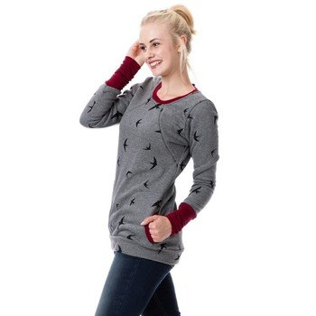 Winter Maternity Tops Breastfeeding Clothes Nursing Tops Pregnancy Clothes