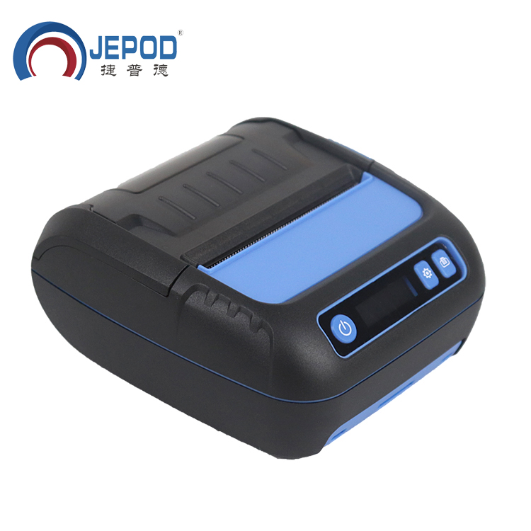 JEPOD JP-8001LY Thermal Printer Label Receipt 80mm Portabel Mini Mobile Printer Bluetooth Label Maker POS Android IOS JP-8001LY(Hong Kong,China)