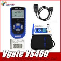 Best Price Vgate VS450 Code Reader Com Reset Airbag ABS For VS 450 V AG Cars OBD2 Scanner Automotive Diagnostic Scanner Tool