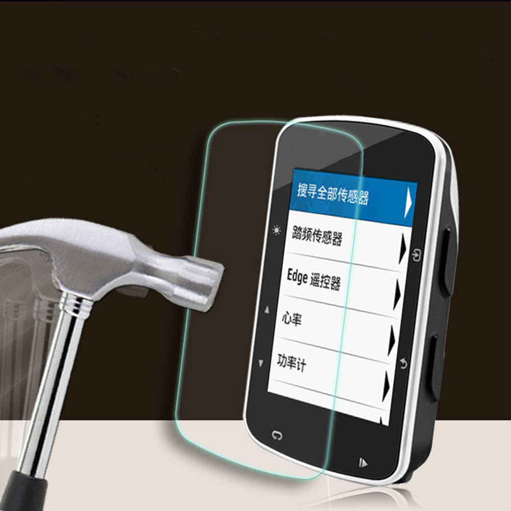 Ultra-thin Screen Protector For Garmin Edge 820 0.26mm Slim 9H HD Tempered Glass Film Scratch Resistant For Garmin Edge 820 520
