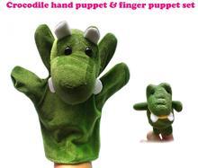 Marioneta Cocodrilo + marioneta de dedo