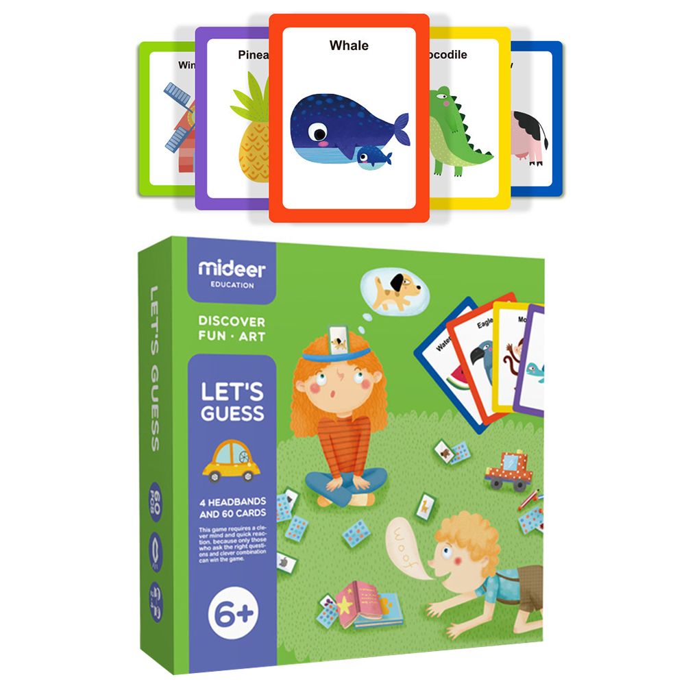 Let S Guess Cognitive Card Board Game You Draw Me Guess Parent Child