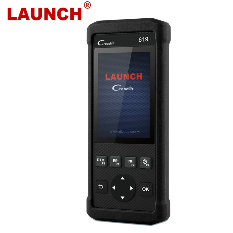 Launch CR619 Automotive Scanner OBD2 ABS/SRS/Airbag/Engine Diagnostic Tool OBD 2 Auto Scanner Car Diagnostic Airbag Scan Tool launch x431 easydiag 2 0 for android ios 2 in 1 auto diagnostic tool launch easydiag update by launch website eobd obd scanner
