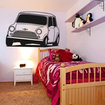 High Quality 58x80cm VW Golf Car Decal Bedroom Wall Sticker Art Home Decor Vinyl Sticker Removable Living Room Wall Paper A-104 image