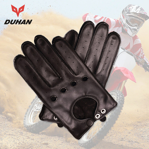 Motorcycle Gloves Genuine Leat