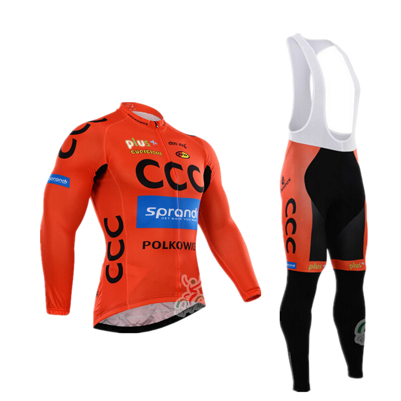 2016 spring autumn pro team men Ropa Ciclismo Bicycle maillot Orange cycling jersey quick dry bike clothing MTB 3D GEL guy cyc