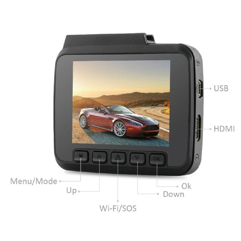 2.4 Vehicle GPS Track Recorder HD 4K WIFI Driving 1080P Dash Cam Camera Cycle Insurance G-sensor Detection Display Car DVR xingtianxia hd 186 1 5 ltps 5 0mp car vehicle dvr camcorder w 4 ir led g sensor black