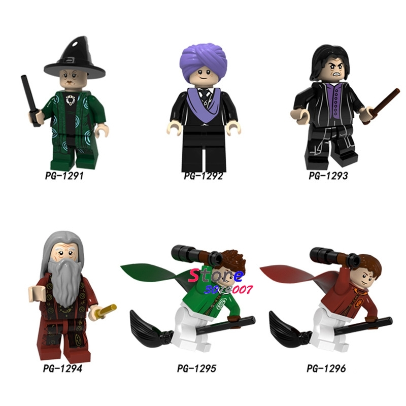 Single Building Blocks   Chino Professor Snape Olivewood  Collection Toys For Children