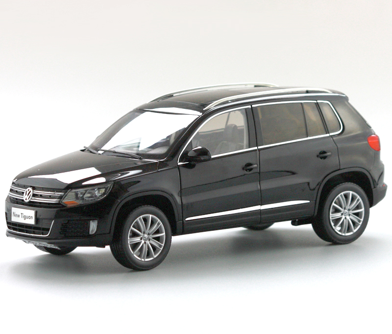 1:18 Diecast Model For Volkswagen VW Tiguan 2013 Black SUV