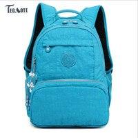 TEGAOTE Women School Backpack For Teenage Girls Mochila Feminina Escolar Kipled Nylon Travel Laptop Bagpack Female