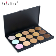 Rosalind Professional Face Makeup15 Colors Concealer Cream Facial Care Cosmetic Palette