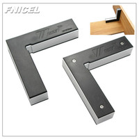 2Pcs 90 Degree Aluminum Alloy Right Angle Clamp L square Holder Ruler Clamping Square Woodworking Fixture Corner Clamping Tools