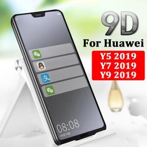 Защитное стекло для huawei y9 2019, защита для экрана Y5 y 7 huwei, закаленное стекло с эффектом потертости, huawei huavei prime, пленка 9h