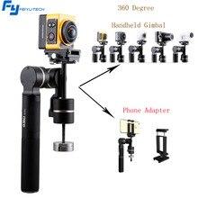 Feiyutech FY G360 ручной панорамный Камера Gimbal Stablizer 360 безграничны панорамирование оси один-пресс панорама обширные камеры
