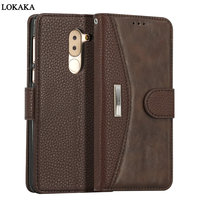 Phone Case For Huawei Honor 6X Dirt Resistant PU Leather Wallet Flip Card Holder 5 5