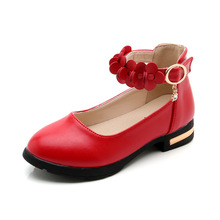 Childrens Student Black leather Shoes Girl Princess Dancing shoes Kids Wedding Party Shoes For Girls 4 5 6 7-15T Red White Black black childrens leather shoes kids girls princess dancing shoes school student black leather shoes for girls 4 5 6 7 8 9 10 15t