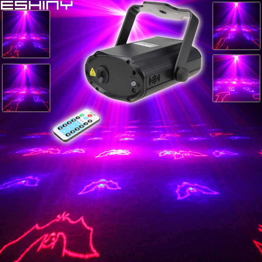 ESHINY Mini R&B Laser 12 Halloween Patterns Projector Dance Disco Bar Family Party Xmas Stage Lights DJ environment Light T166ESHINY Mini R&B Laser 12 Halloween Patterns Projector Dance Disco Bar Family Party Xmas Stage Lights DJ environment Light T166