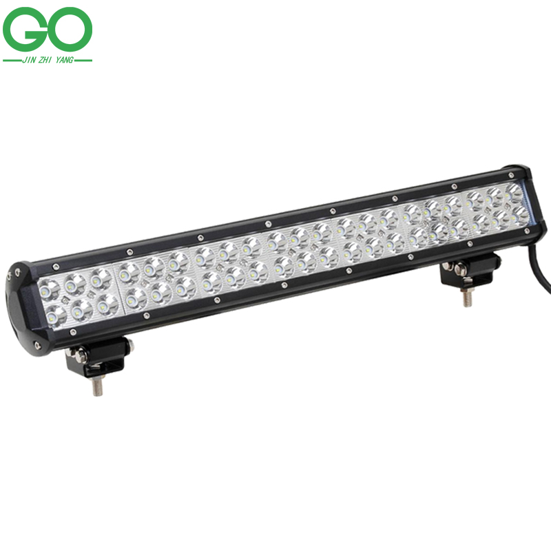 цена на LED Work Light Bar 126W Cree Work Lights Offroad Boat Car Tractor Truck 4x4 4WD SUV ATV 12V 24V Spot Flood Combo Beam
