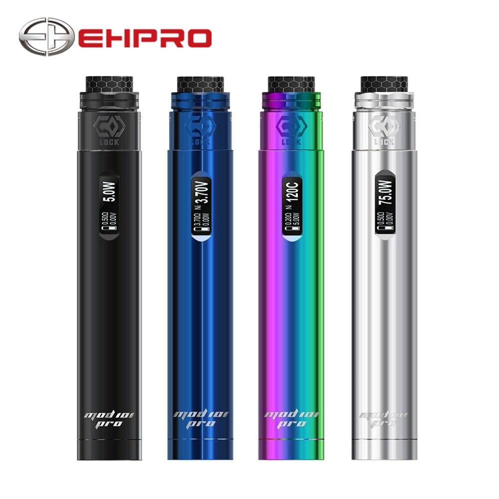 New Ehpro 101 Pro Kit with MOD 101 Pro Mod & Ehpro Lock Build-free Single Coil RDA No 18650 Battery Pen-style Vape Starter Kit ehpro armor prime mod