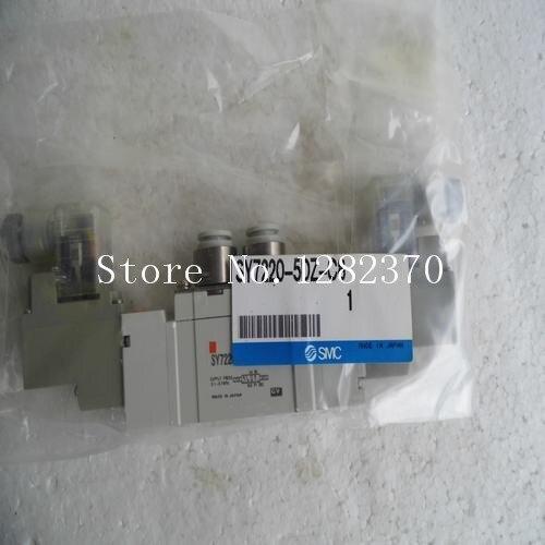 [SA] New Japan genuine original SMC solenoid valve SY7220-5DZ-C8 spot --2PCS/LOT [sa] new japan genuine original smc solenoid valve vcl41 5dl 10 06 spot