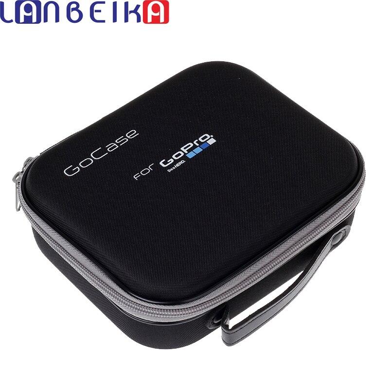LANBEIKA Collection Sac Boîte De Rangement Case Portable De Protection Antichoc Gocase pour Gopro Hero 6 5 4 3 + SJCAM SJ6 SJ7 SJ4000 Eken
