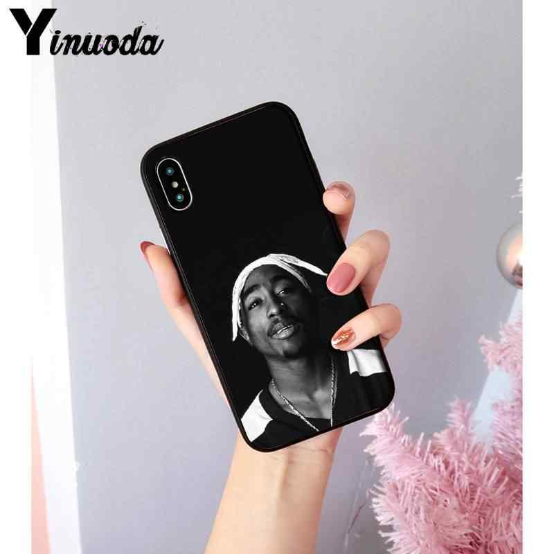 Yinuoda 2Pac توباك Amaru شاكور الملونة لطيف ملحقات الهاتف حالة ل iPhone8 7 6 6Splus X XSMAX 5 5S SE XR 11 11pro 11 بروماكس