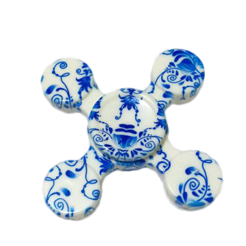 High Quality ABS Four Corners Fidget Spinner Professional Attention Hand Spinner For Autism ADHD Stress Relief Toy