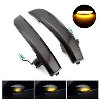 Car Lights For Ford Kuga Escape EcoSport Luces Led Para Auto Led Rearview Mirror Streamer Smoked Shell 13 18 Set Ampoule #4
